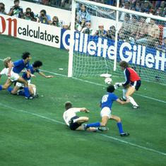 Pause, rewind, play: Paolo Rossi's six goals at the 1982 World Cup led Italy to the title