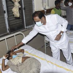 Eluru illness: 24 new cases emerge, experts say Covid-19 sanitation drive may have polluted water