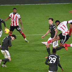 Premier League: Manchester United maintain perfect away record with 3-2 win over Sheffield United