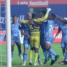 ISL: Jadhav's goal, Rehenesh's penalty save helps Jamshedpur FC end NorthEast United's unbeaten run