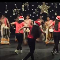 Watch: 'Jingle Bells' accompanied by a traditional South Indian percussion orchestra