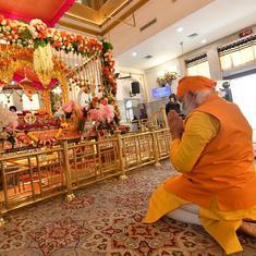 Farm law protests: PM Modi turned his back to Sikh farmers during his gurdwara visit, says Shiv Sena
