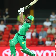 Watch: West Indies batsman Nicholas Pooran smashes eight sixes in stunning Big Bash League knock