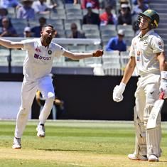 Watch: Rahane gave me confidence and Bumrah was around at all times, says Siraj after Test debut