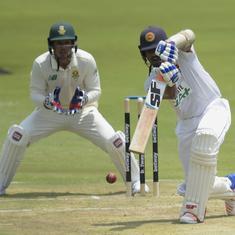 First Test: De Silva, Chandimal star as Sri Lanka gain control against South Africa on day one