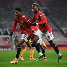 Premier League: Manchester United leave it late, Arsenal win back-to-back as Covid-19 concerns grow