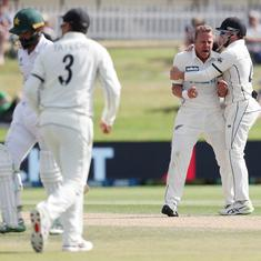First Test: Fawad Alam's defiance in vain as New Zealand defeat Pakistan in thriller