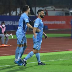 ISL: Mumbai City FC stave off second-half rally from Kerala Blasters to claim sixth win of season