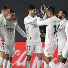 La Liga: Lucas Vazquez, Marco Asensio on target as Real Madrid defeat Celta Vigo to take top spot