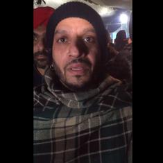 Watch: Canadian-Punjabi singer Jazzy B joined farmers' protest on Delhi's border on New Year's Eve