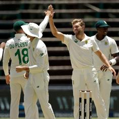 Second Test: South Africa dominate Sri Lanka with bat and ball to take charge on day one