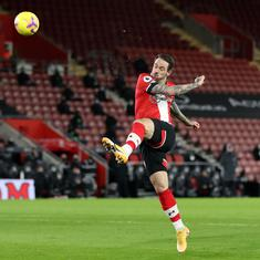 Premier League: Danny Ings's stunner helps Southampton down Liverpool as Klopp admits rustiness