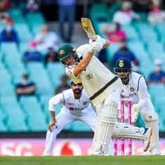 Watch highlights: Labuschagne, Smith remain unbeaten as Australia dominate day one of Sydney Test