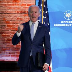 US Congress formally certifies Joe Biden's election win after violence rocks Capitol