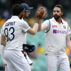 India lodge complaint after Jasprit Bumrah, Mohammed Siraj face racial abuse at SCG: Report
