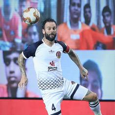 ISL: East Bengal's Danny Fox free to play against Bengaluru FC after AIFF overturns red card
