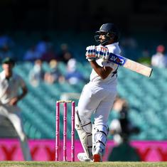 Watch highlights: Well set Rohit's dismissal leaves India with a stiff challenge to save Sydney Test