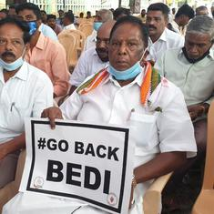 Puducherry: LG Kiran Bedi has no respect for law, Constitution, says CM; protest enters third day