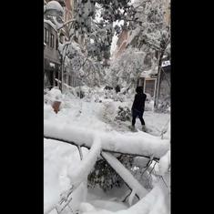 Watch: Scenes from Spain as the country receives historic snowfall due to Filomena snowstorm
