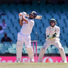 Watch: Rishabh Pant's brilliant, counter-attacking 97 against Australia in drawn Sydney Test