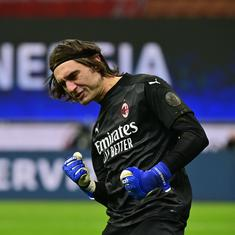 Italian Cup: Ciprian Tatarusanu stars as AC Milan beat Torino on penalties to reach quarter-finals