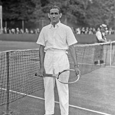 Meet Mohammed Sleem, the 'first Indian tennis superstar'