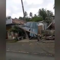 Watch: Scenes from Indonesia when a 6.2-magnitude earthquake hit the South Sulawesi province