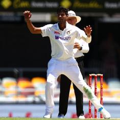 Ravi sir tells us very inspiring stories from his playing days: Washington Sundar