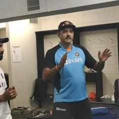 Watch: Ravi Shastri's stirring speech – 'Enjoy the moment lads, these things don't happen daily'