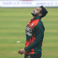 Cricket: Bangladesh all-rounder Shakib Al Hasan in doubt for New Zealand tour
