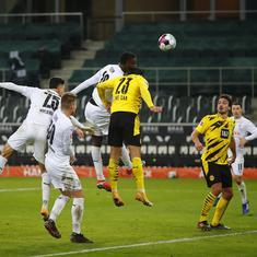 Bundesliga: Gladbach climb to fourth by ending six-year wait to beat Dortmund