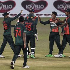 Bangladesh dominate weakened West Indies to clean sweep ODI series at home
