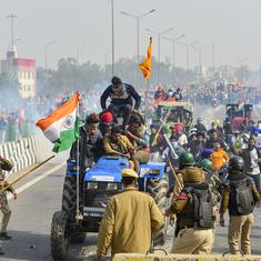 Tear gas at Singhu to rally inside Red Fort: Here's how the farmers' tractor parade unfolded