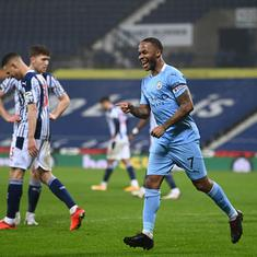 Premier League: Manchester City thump West Brom to go top, Arsenal turn tables on Southampton