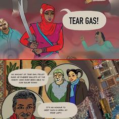 This graphic story by Orijit Sen and Pakhi Sen is the winner of the Hamzanama Comic Contest 2020