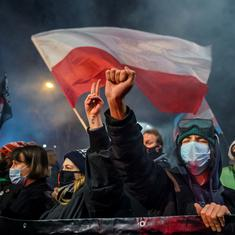 Poland implements near-total ban on abortion, protests erupt in several cities