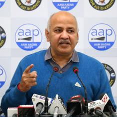 Centre trying to rule Delhi 'through the backdoor', claims Deputy Chief Minister Manish Sisodia