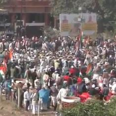 Watch: Farmers in UP's Baghpat congregate to attend mahapanchayat against farm laws
