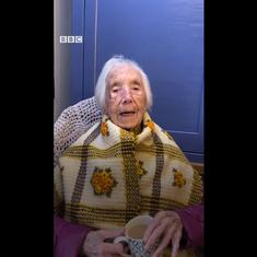 Watch: At 110 years of age, Amy Hawkins of Wales is a social media star