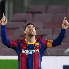 La Liga: Super-sub Lionel Messi powers Barcelona to  comeback win against Real Betis
