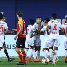 ISL: Bengaluru FC snap winless streak, end wait for clean sheet with clinical display against EB