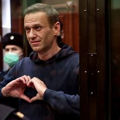 Russia Opposition leader Alexei Navalny sentenced to nearly 3 years in prison