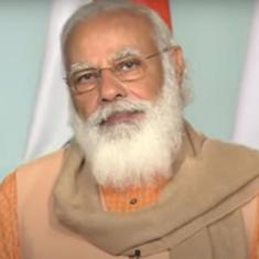'Agriculture grew during pandemic because of steps taken to make farmers self-reliant,' says PM Modi