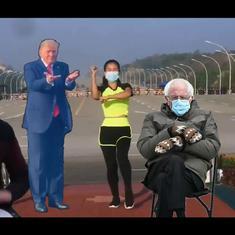 Watch: Hilarious remix of Trump, Bernie Sanders, Myanmar aerobics teacher, Turkish music, and more