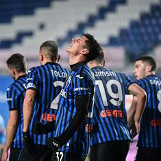 Italian Cup: Holders Napoli knocked out as Matteo Pessina's brace sends Atalanta to final