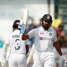 Third Test: Rohit Sharma, James Anderson expect Ahmedabad pitch to take turn during day-night game