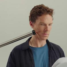 Watch: Judi Dench and Benedict Cumberbatch in comic promo for Red Nose Day charity event