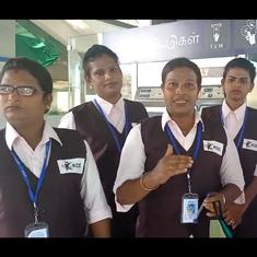 Watch: Meet some of the transgender people who were just hired to work at Chennai Metro Rail
