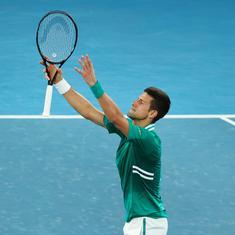 Australian Open: Djokovic soldiers on, overcomes Zverev in a slugfest to reach semi-final