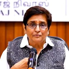 'Whatever was done was a sacred duty,' says Kiran Bedi after being removed as Puducherry L-G